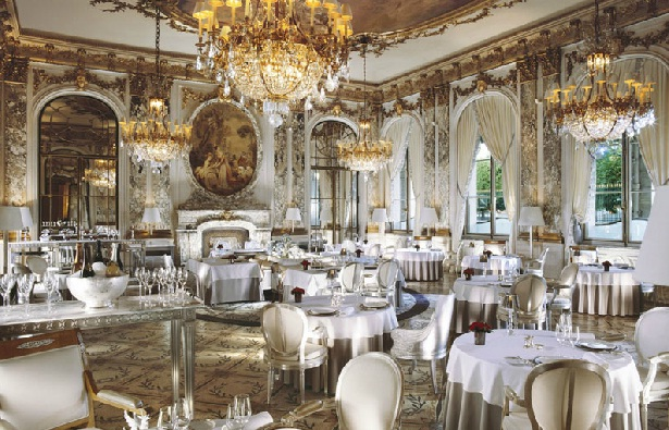 Fine dining; Michelin star restaurants in Paris