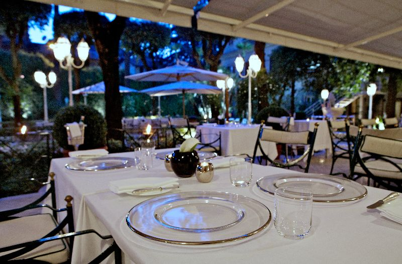 Fine dining; Michelin star restaurants in Rome