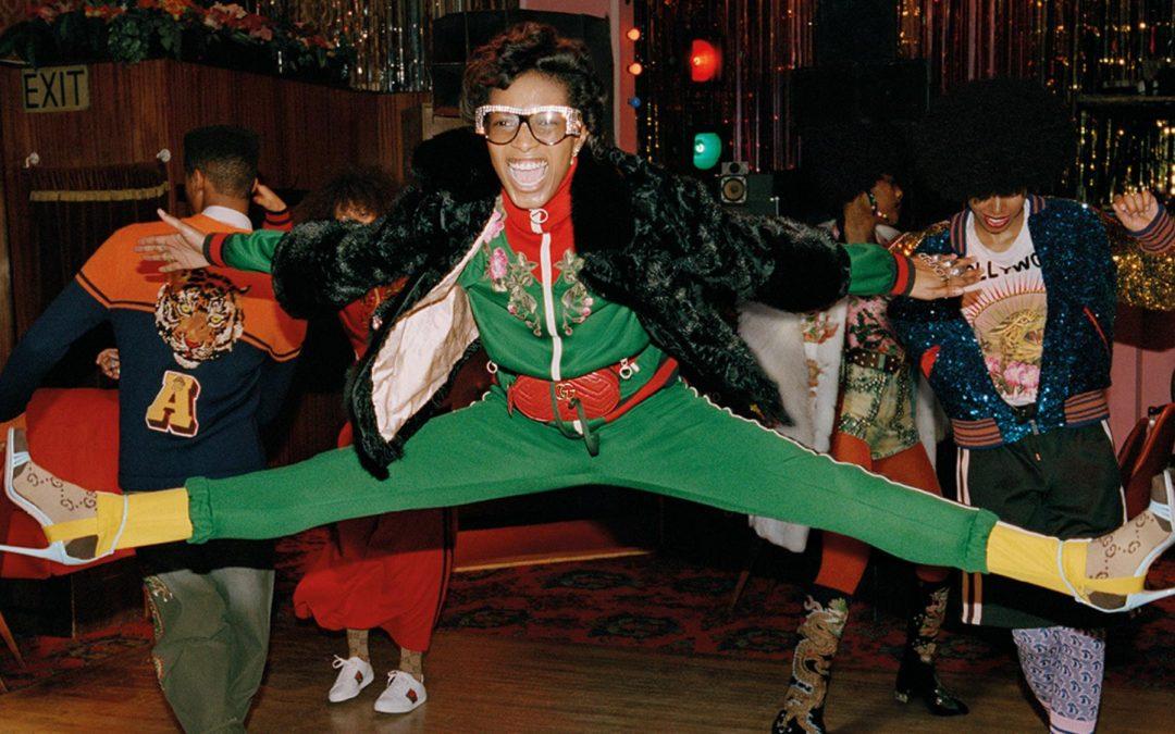 Soul Scene; Gucci's pre-fall campaign