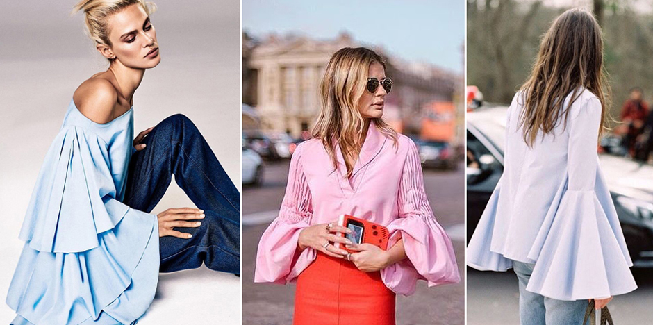 Fall in love with dramatic sleeves this summer