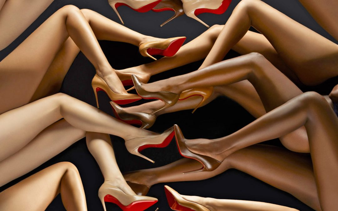 Christian Louboutin releases High Heel Sandals in a Range of Nudes