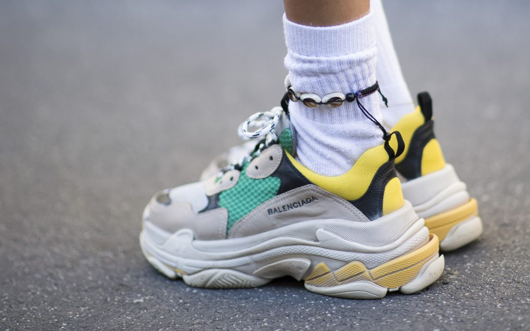 Dad Sneakers aka the 'Ugly' Sneaker trend