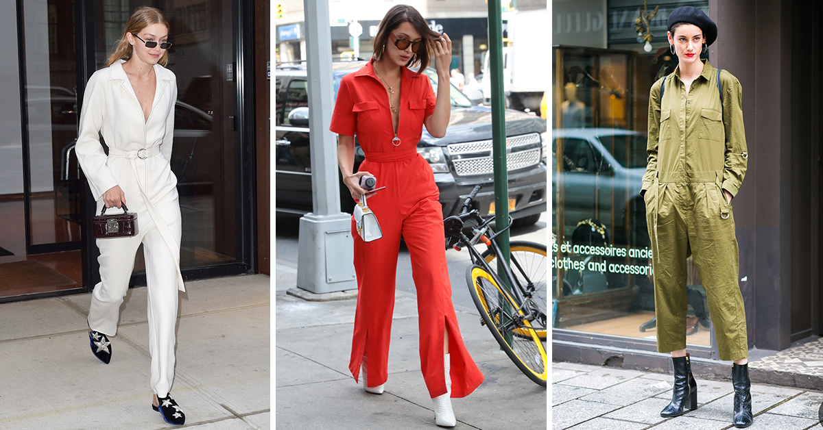 "Boiler suits; Fashions ""IT"" piece of the moment"