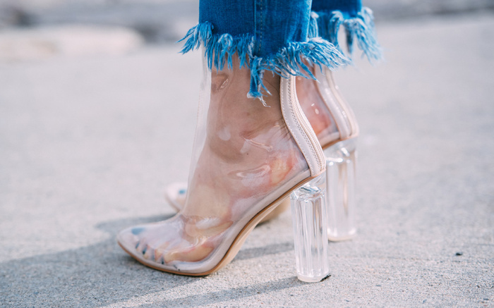 Is the Perspex Heel the most popular heel right now?