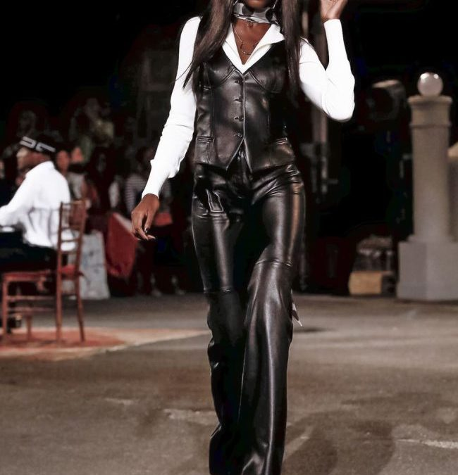 Leather; trend of the year?